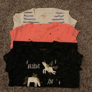 Bundle of Cat and Jack T-Shirts size 6/ 6x